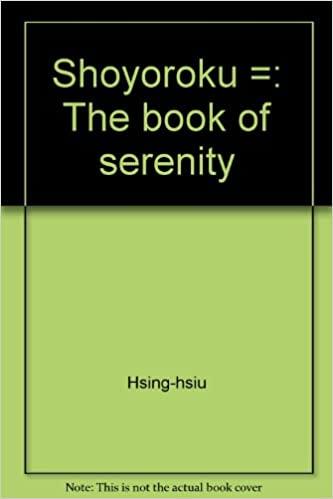 Сьоойоороку (Книга врівноваженості), Основні історії.