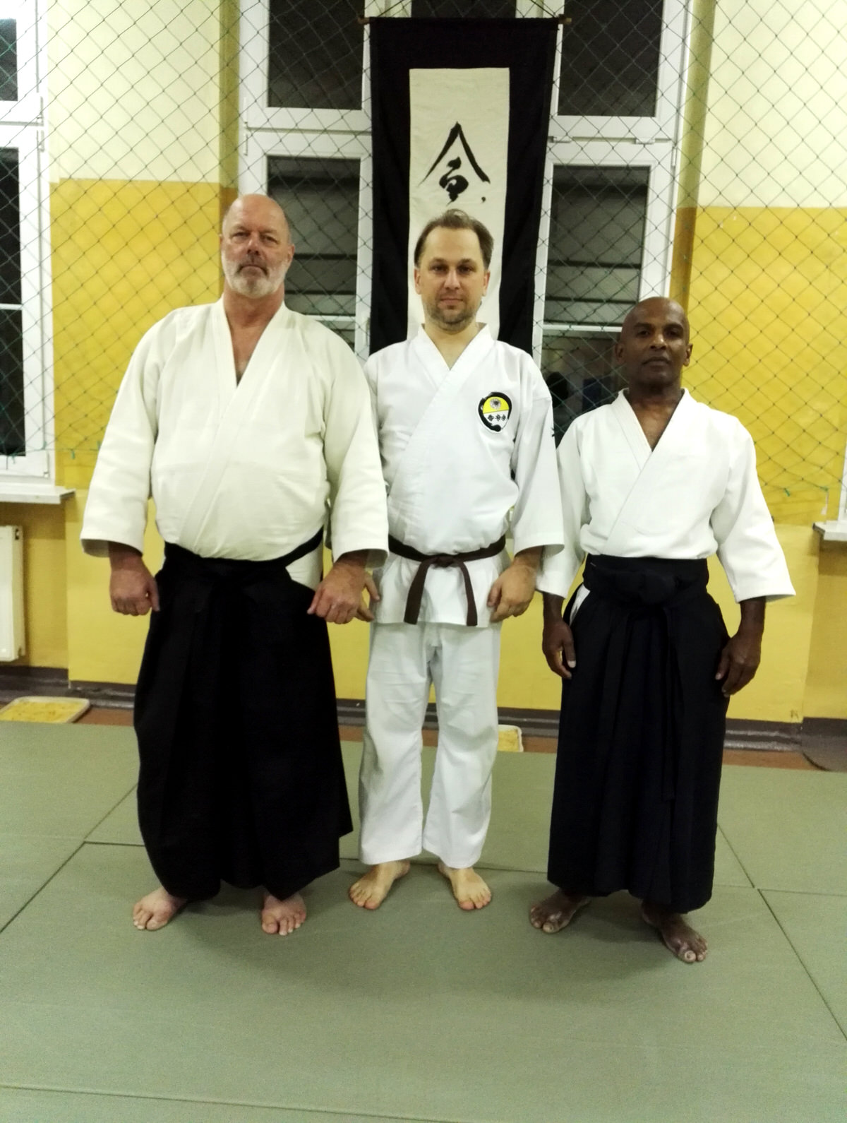 Aikido Yoshinkan Seminar in Jablonec nad Nisou, Czech with Robert Mustard and Joe Thambu