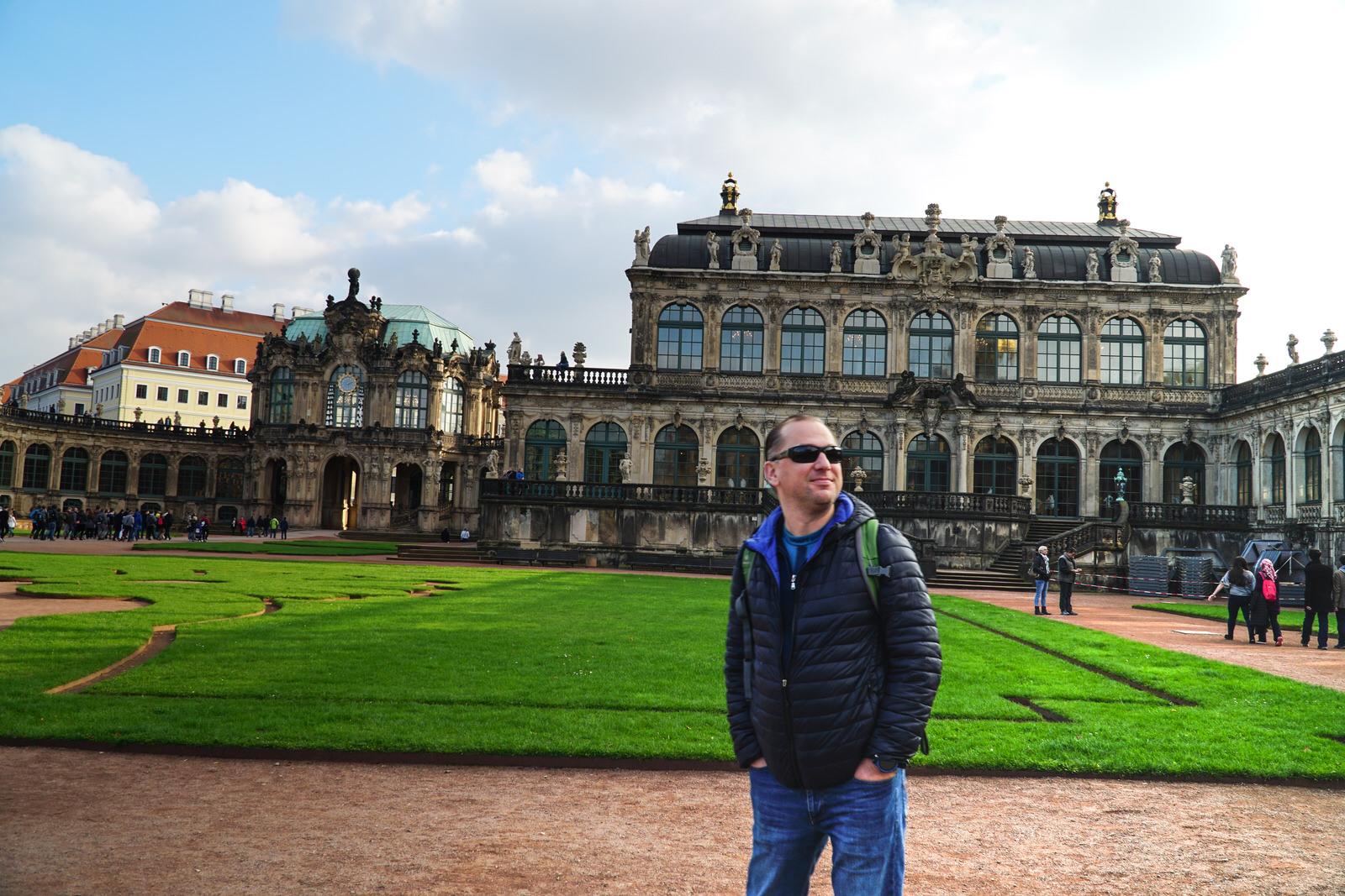 Дрезден, Німеччина. Перший візит